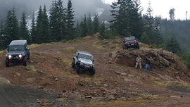 Evans Creek / Trail #519 - Waypoint 6: Top of the Mountain Summit