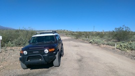 AZCO Mine Road - Waypoint 3: Little Pan Mine Road Southern Intersection