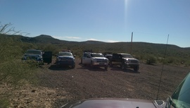 AZCO Mine Road - Waypoint 2: Staging area