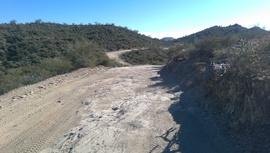 Little Pan Mine Road - Waypoint 6: AZ Fish Dept. Signs