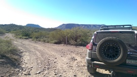 TMRA 9994 - Waypoint 1: Little Grand Canyon Trail Intersection