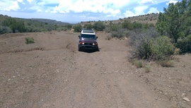 General Cook National Recreation Trail - Waypoint 24: Small Washes