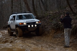 Windrock Trail 22 - Waypoint 6: Mud Hole