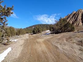 Rattlesnake - Waypoint 15: Mine Tailings Turnoff