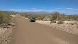 Little Pan Mine Road - Waypoint 2: 9991 Intersection