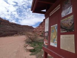 Poison Spider Mesa - Waypoint 1: Trailhead