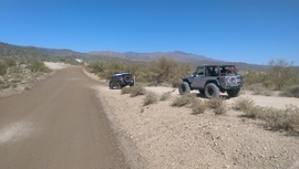 TMRA 9991 - Waypoint 4: Little Pan Mine Rd Intersection