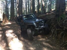 Evans Creek / Trail #102 - Waypoint 5: Tight Squeezes