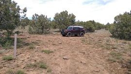 Jacks Canyon Road - Waypoint 7: 9496T Intersection