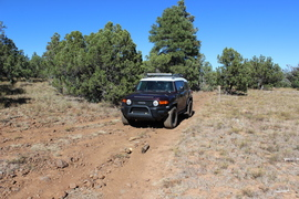 Jacks Canyon Road - Waypoint 4: 9494F Intersection