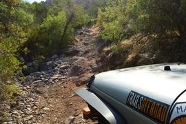 Millsite Canyon Trail - Waypoint 12: DIFFICULT ROCK CLIMB