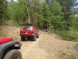 Red Elephant Hill - Waypoint 8: Straight/NW