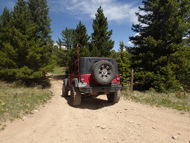 Red Elephant Hill - Waypoint 20: 171.1 Trailhead