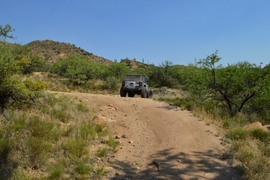 Millsite Canyon Trail - Waypoint 14: STAY RIGHT