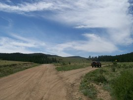 Aspen Ridge - Waypoint 5: Intersection FS Road 185B