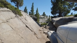 The Rubicon Trail - Waypoint 12: V-Notch aka Squeeze