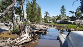The Rubicon Trail - Waypoint 11: Water Crossing