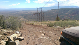 Casner Mountain Trail - Waypoint 8: Switchback Top
