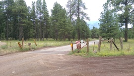 Woody Mountain Road - Waypoint 10: Guard & Sign