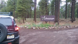 Woody Mountain Road - Waypoint 4: Arboretum at Flagstaff