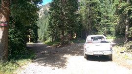 Webster Pass - Waypoint 2: Private Drive