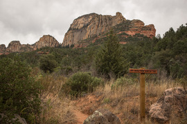 FS152 - Dry Creek Road - Waypoint 15: Vultee Arch Hiking Trail