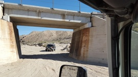 Mojave Road - Waypoint 66: Railroad Bridge