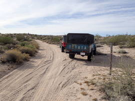 Mojave Road - Waypoint 9: Fork Left