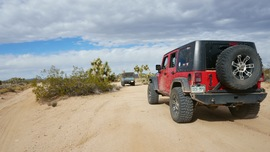 Mojave Road - Waypoint 30: Take North Fork
