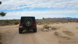 Mojave Road - Waypoint 31: Straight