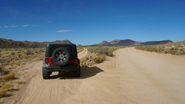 Mojave Road - Waypoint 40: Left/West