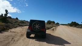 Mojave Road - Waypoint 43: Go Left/Southwest