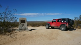 Mojave Road - Waypoint 47: Kelso Cima Road Crossing