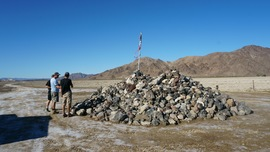 Mojave Road - Waypoint 57: Travelers Monument