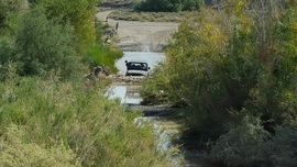 Mojave Road - Waypoint 64: Water Crossing - Afton - Mojave River
