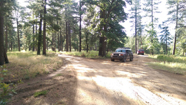East Pocket Road - Waypoint 29: Camp Spur Intersection
