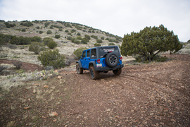 House Mountain Trail - Waypoint 11: Left Turn