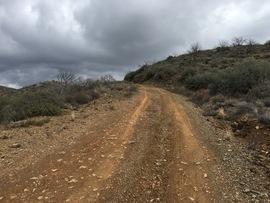 Big Maggie May Trail - Waypoint 2: Wash U-turn