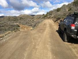Big Maggie May Trail - Waypoint 1: Big Maggie May Trailhead