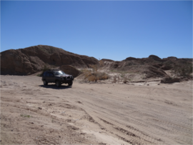 Tectonic Gorge - Ocotillo Wells SVRA - Waypoint 3: Offroad Playground