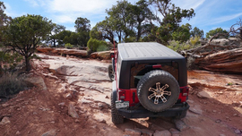 Top of the World - Utah - Waypoint 12: Waterfall Obstacle