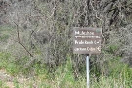 Jackson Cabin/Muleshoe Ranch Road FR #691, Arizona - Waypoint 4: Hooker Hot Springs - Muleshoe Headquarters (Closed)
