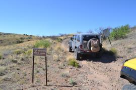 Jackson Cabin/Muleshoe Ranch Road FR #691, Arizona - Waypoint 10: Entering Private Lands