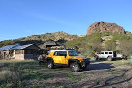 Jackson Cabin/Muleshoe Ranch Road FR #691, Arizona - Waypoint 19: Jackson Cabin - Trail End
