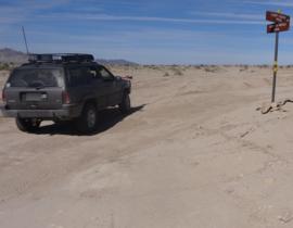 Pumpkin Patch Trail - Ocotillo Wells SVRA - Waypoint 3: Lost Lizard