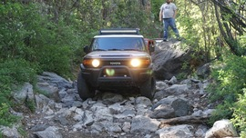 Smiley Rock  - Waypoint 11: Rougher Section Continue Straight