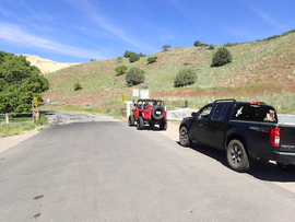 Butterfield Canyon - Waypoint 2: Seasonal Gate
