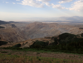 Butterfield Canyon - Waypoint 8: End/Bingham Mine Overlook