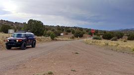 Jerome-Perkinsville Road - Waypoint 9: FR 9899D Bypass