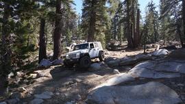 26E216 - Mirror Lake Trail  - Waypoint 9: Rocks and Ruts